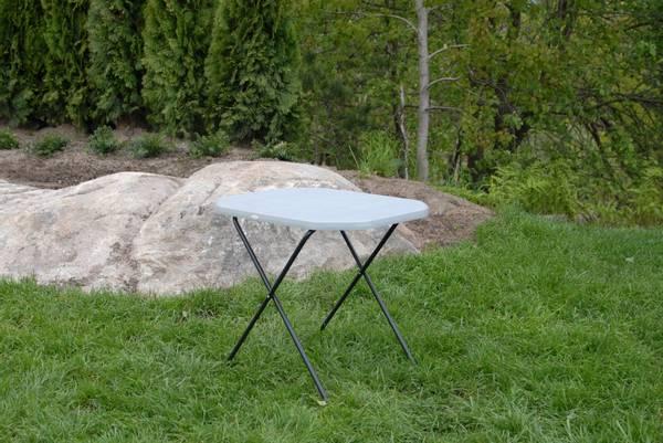 Bilde av Activ sammenleggbart piknikbord 53x70 cm - grått