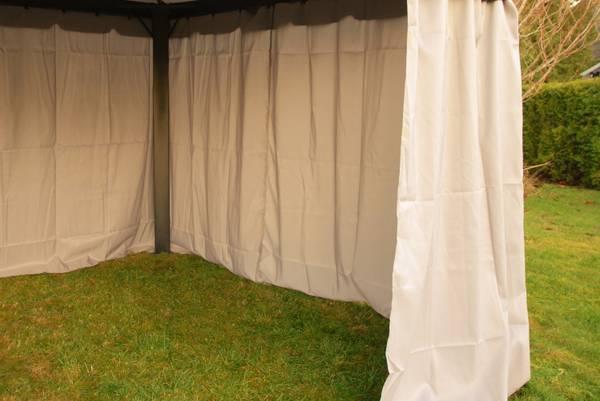 Bilde av Comfort veggsett til 3x4m paviljong - beige