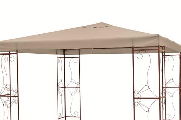 Bilde av Allround tak til 3x3 m paviljong - mørk beige