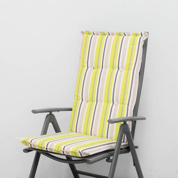 Bilde av Classic posisjonspute - design Lime stripet